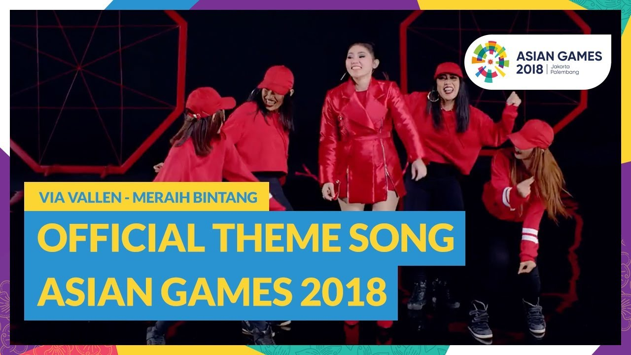 Reach for The Stars - Via Vallen - Official Theme Song Asian Games 2018